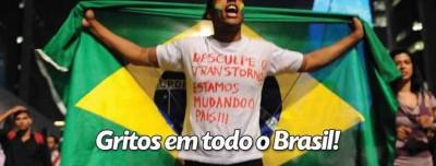 Gritos em todo o Brasil